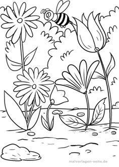 Bauernhof Quiz Fur Kinder Kindergeburtstag Kindergarten Grundschule Blumen Ausmalbilder Malvorlagen Blumen Blumen Ausmalen