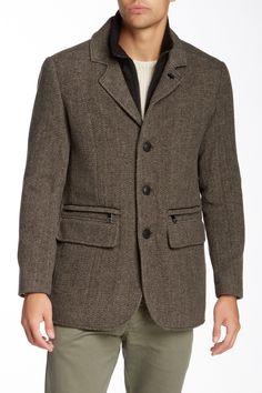 Hanson Wool Blend Double Lined Coat