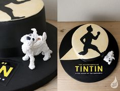 Spotlight Tintin by Iced Over Cakes, via Flickr