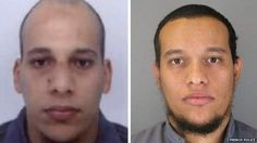 French police release photos of two brothers wanted in connection with Charlie Hebdo attack http://bbc.in/1Doab6J