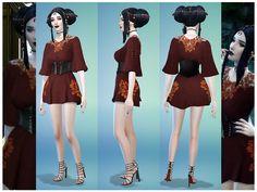Dailiaa's toksik Bailo Dress- Vampire Retex *Mesh Needed