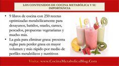 Cocina Metabólica Te Ayuda A Baja De Peso Sin Sufrir