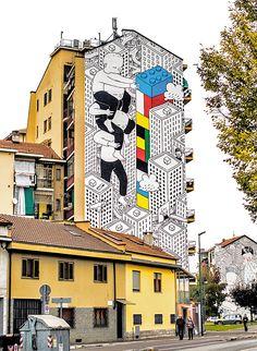 Otro mural del mismo artista al parecer..
