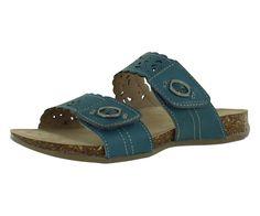 Tessa Shadow Blue Sandals Women's Shoes Size 12