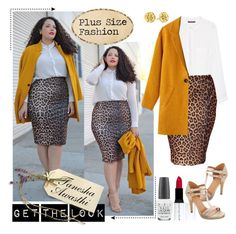 """""""Get The Look : Plus Size Blogger Tanesha Awasthi"""" by gorgeautiful ❤ liked on Polyvore featuring Violeta by Mango, Missguided, Gorjana, OPI, Diego Dalla Palma and even&odd"""