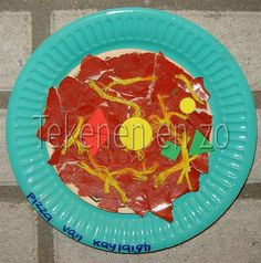 Mijn lekkere pizza