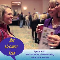 In this solo episode of #BizWomenTalk, I outline basic strategies for getting the most out of your networking efforts. Tips for preparing to network, including setting intention and clearing your mindset. How to approach people at networking events. And what to do after so your efforts aren't wasted. http://kickassbizcoaching.com/episode-42/