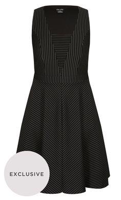 fe08d5d1193 City Chic - OFFICE FUN DRESS - Women s Plus Size Fashion
