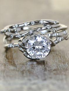 399 best Unique Engagement Rings images on Pinterest | Wedding band ...