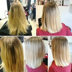 Before-After ;)  Balayage , haircut , hairstyle , Blond , Senscience IColor by Farkas Evelin