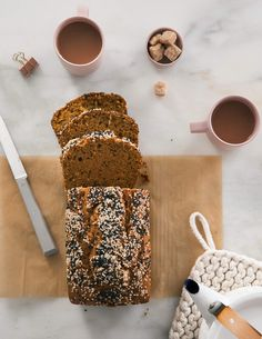 Pumpkin Tahini Loaf Recipe - A Cozy Kitchen Pumpkin Bread, Pumpkin Pie Spice, Pumpkin Puree, Tahini, Brie Au Four, Cherry Tomato Pasta, Shrimp Stir Fry, Easy To Make Dinners, White Chocolate Chip Cookies