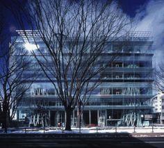Sendai Mediatheque by Pritkzer Laureate Toyo Ito