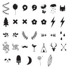 Lightbox - Symbolen en Cijfer set