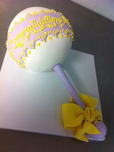 Baby Rattle Cake by Karen Portaleo/ Highland Bakery, via Flickr