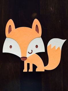 Hey, I found this really awesome Etsy listing at https://www.etsy.com/listing/235708178/4-woodland-creature-fox-birthday-baby