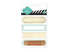 2,10 $ Heidi Swapp - Hello Today Collection - Memory Planner - Wood Stamp Labels - Mint