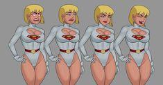 Dc Comics Girls, Comic Art Girls, Dc Comics Superheroes, Dc Comics Art, Marvel Comics, Female Cartoon Characters, Comic Book Characters, Comic Character, Dc Animated Series