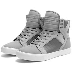 Chaussures SUPRA / SKYTOP - Grey white