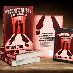 "Book cover design by for ""The Identical Boy"", a series of horror short stories and creepypastas. Halloween Designs, Horror Books, Scary Movies, Book Cover Design, Portfolio Design, Short Stories, Dark Side, Creepy, Custom Design"