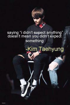 V ( Taehyung ) - BTS Quote. Why does this hit me so hard Bts Taehyung, Bts Jungkook, Bts Aegyo, Bts Lyrics Quotes, Bts Qoutes, Sin Quotes, Drama Quotes, Mood Quotes, Fan Fiction