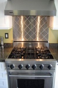 Brunch is better in an updated kitchen! Re-do the back splash in 10 minutes flat! Shop for patterns to match mom's style here: http://www.onlinemetals.com/merchant.cfm?id=1225&step=2&top_cat=1225