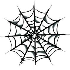 Full Spider Web Halloween Costume Makeup Temporary Tattoo,$0.55