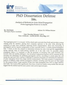 Doctoral Thesis Myth