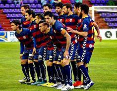 Equipos de fútbol: LLAGOSTERA contra Real Valladolid 19/03/2016