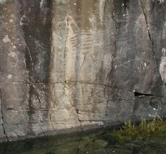 Petroglyphs on Vancouver Island