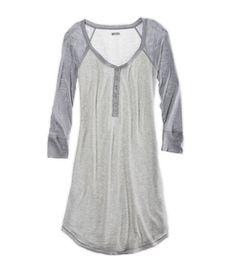 cdfb03ca3a Sparkle raglan sleep shirt Cute Pjs