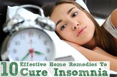 Are you being robbed of good nights sleep? Tossing  turning on the bed? Here are the home remedies for insomnia that will definitely help you in having a peaceful sleep.