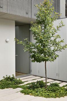 Entrance Design, House Entrance, Garden Architecture, Interior Architecture, Night Garden, Garden Studio, Outdoor Living, Outdoor Decor, Private Garden