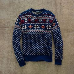 Twill - Ralph Lauren Nordic Sweater.