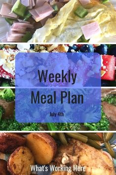 We're preparing for vacation by doing a little carb cycling. Check out what is on this week's menu and why we carb cycle before vacation. Weekly Menu Printable, Meal Planning Printable, Carb Cycling Meal Plan, Weekly Menu Planning, Foods To Eat, Family Meals, Food Videos, Clean Eating, Easy Meals