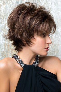 Rene of Paris Wigs : Coco ( - 1 - Cheveux Choppy Bob Hairstyles, Hairstyles For Round Faces, Short Hairstyles For Women, Thin Hairstyles, Hairstyles 2018, Teenage Hairstyles, Pixie Haircuts, Very Short Hair, Short Hair Cuts
