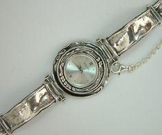 Sterling Shablool watch Pocket Watch, Bracelet Watch, Silver Jewelry, Ladies Watches, Jewels, Purses, Sterling Silver, Bracelets, Israel