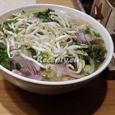 Vaření top receptu Vietnamská polévka Pho Cabbage, Indie, Food And Drink, Vegetables, Cabbages, Vegetable Recipes, Brussels Sprouts, Veggies