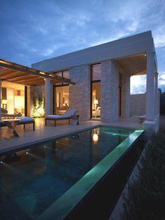 Amanzoe Villas, Greece - http://www.adelto.co.uk/contemporary-amanzoe-villas-greece/#more-20256