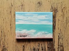 Beach painting Ocean painting Seascape painting Coastal painting Beach house decor Nature painting Under 50 dollars Free shipping US Seascape Paintings, Nature Paintings, Your Paintings, Watercolor Paintings, Original Paintings, Watercolor Cards, Watercolor Flowers, Unique Cards, Beach House Decor