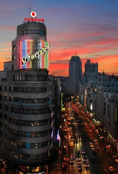 Gran Vía, Madrid | Spain (by J.G. Damlow)
