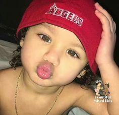 Zanyah - 2 Years • African American & Puerto Rican ❤ Cute Little Baby, Pretty Baby, Little Babies, Cute Babies, Asian Kids, Asian Babies, Brown Babies, Mixed Babies, Beautiful Children