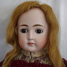 Early Kestner German Bisque Closed Mouth Doll from LYNETTE GROSS ANTIQUE DOLLS found @ Doll Shops United http://www.dollshopsunited.com/stores/lynettegrossdolls/items/1286677/Early-Kestner-German-Bisque-Closed-Mouth-Doll #dollshopsunited