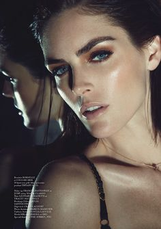 Hilary's Dark Seduction–Appearing in the pages of Glass Magazine's latest issue, Hilary Rhoda charms in all black lingerie looks for this seductive fashion… Lauren Hutton, Lingerie Images, Hilary Rhoda, Perfume Reviews, Campaign Fashion, Fashion Cover, Fashion Music, American Music Awards, Cover Model