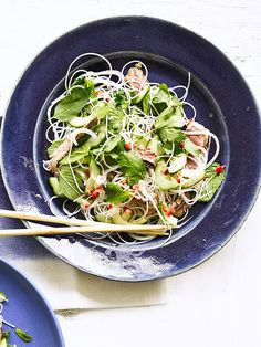 Low-calorie, high protein and gluten free, this Vietnamese steak salad makes an ideal midweek meal, plus, it's really simple to make.
