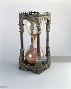 Antique hourglass from the mid-1700's