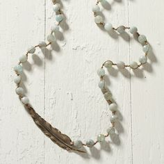 Bronzed Flight Necklace in Jewelry+Accessories JEWELRY Necklaces at Terrain