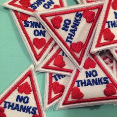 'No Thanks' Patch