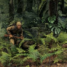Vietcong sniper | Dioramas and Vignettes | Gallery on Diorama.ru