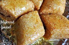 Makrout laasel- Losanges de Semoule aux Amandes et Miel مقروط العسل - Couscous et Puddings