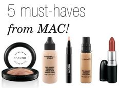 5 Must-Have Products from MAC. Your guide to the best MAC products. Mac Makeup Looks, Best Mac Makeup, Latest Makeup, Makeup Eyeshadow, Hair Makeup, Mac Must Haves, Makeup Must Haves, Best Mac Products, Beauty Products